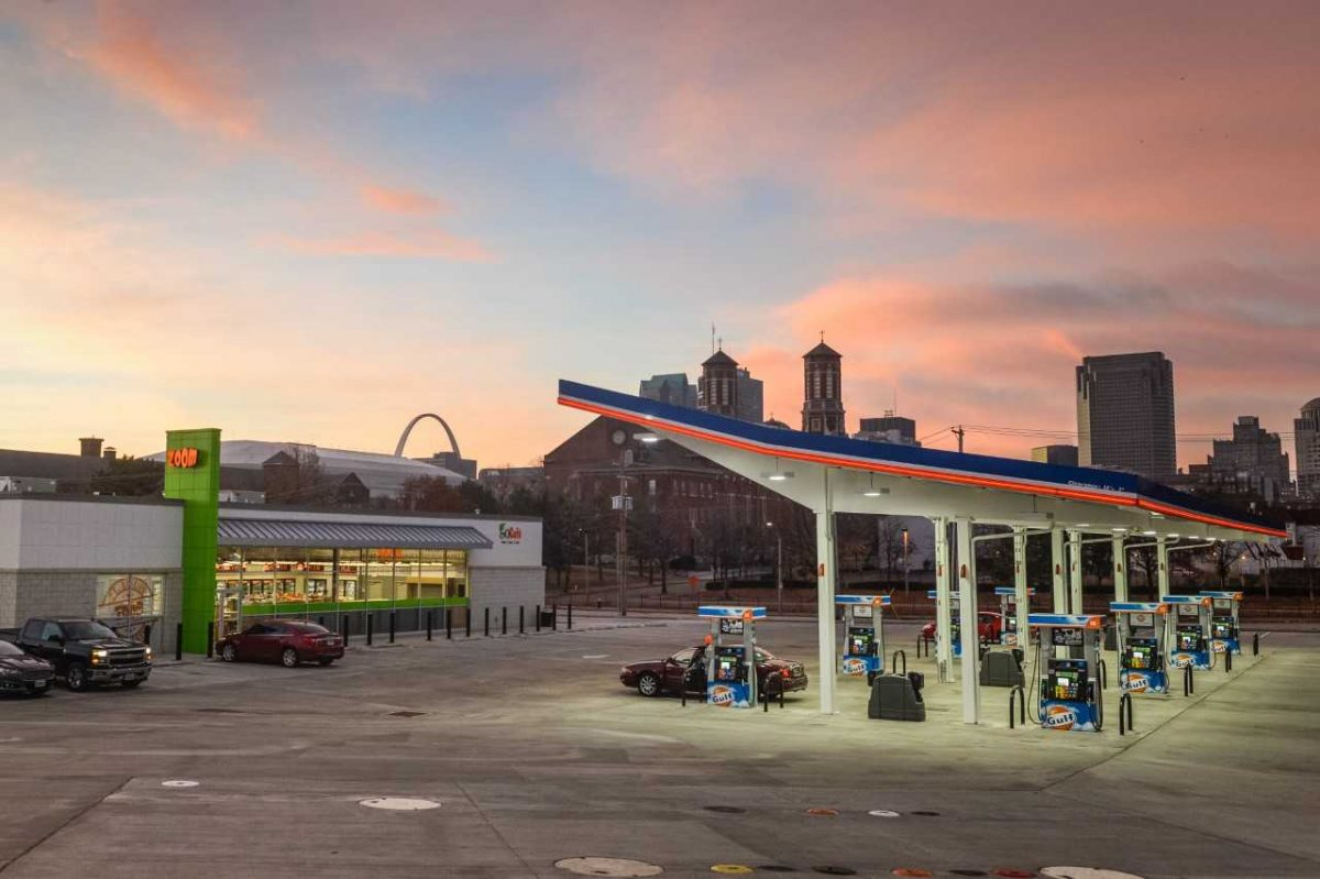 ZOOM Solar-Powered Gulf Gas Station Convenience Store and Car Wash Opens in NorthSide Regeneration Development