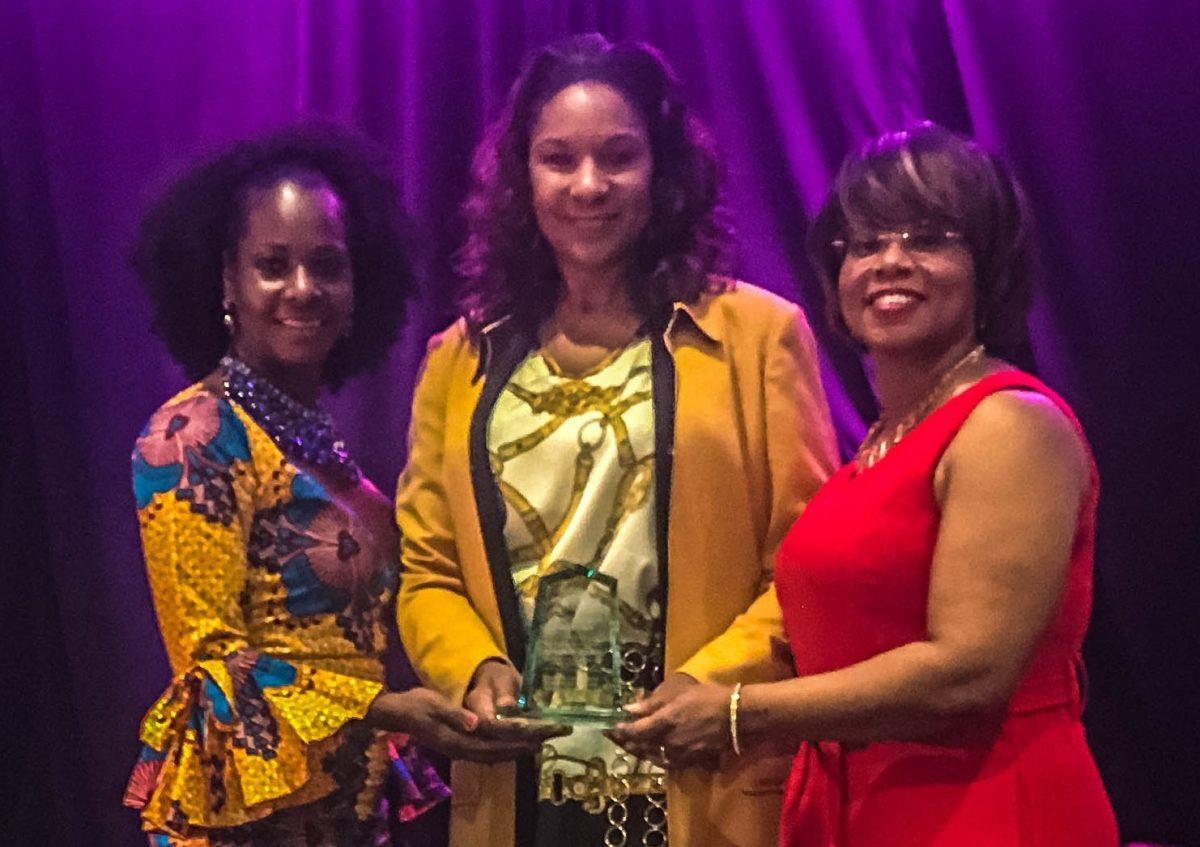 M Property Services Director of Construction Management  Dr. Ramona Tumblin-Rucker Receives Prestigious MOKAN Award